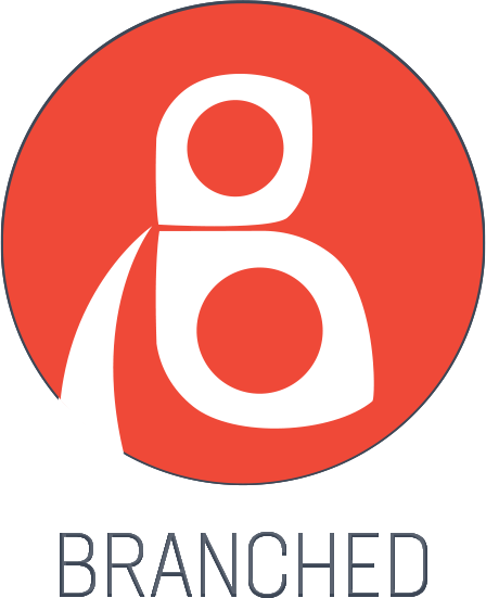 Branched TV logo
